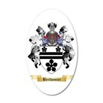 Berthomier 35x21 Oval Wall Decal