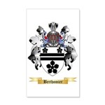 Berthomier 35x21 Wall Decal