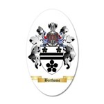 Berthome 35x21 Oval Wall Decal