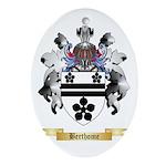 Berthome Ornament (Oval)