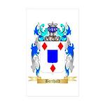 Berthold Sticker (Rectangle 10 pk)