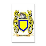 Berthiaume Rectangle Car Magnet
