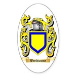 Berthiaume Sticker (Oval 50 pk)