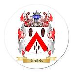 Berthels Round Car Magnet