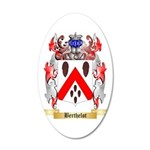 Berthelot 35x21 Oval Wall Decal