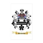 Berthelmy Sticker (Rectangle 50 pk)