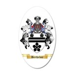 Berthelmy 35x21 Oval Wall Decal