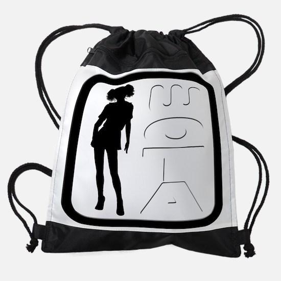 lovewota50.png Drawstring Bag
