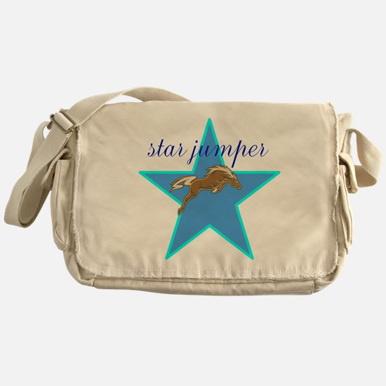 Star Jumper Messenger Bag