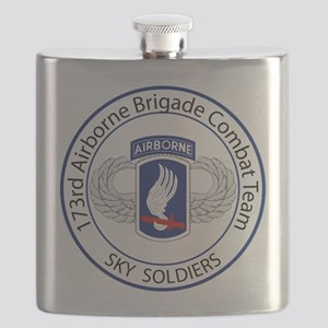 173rd Airborne Sky Soldiers Flask