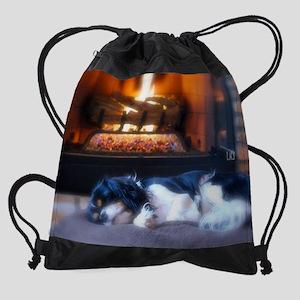 Cheyenne_fire Drawstring Bag