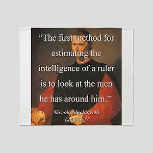 The First Method For Estimating - Machiavelli Thro