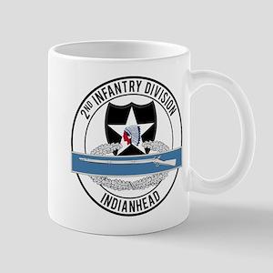 2nd ID CIB Indianhead Mug