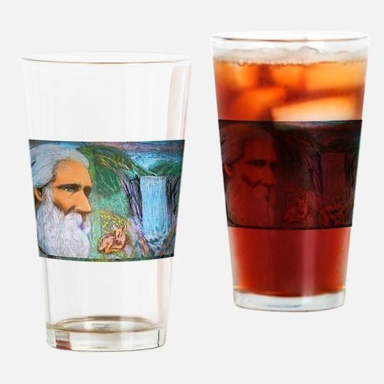 John Muir, Guardian of the Wilderness Drinking Gla