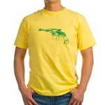 GUN 001 Yellow T-Shirt