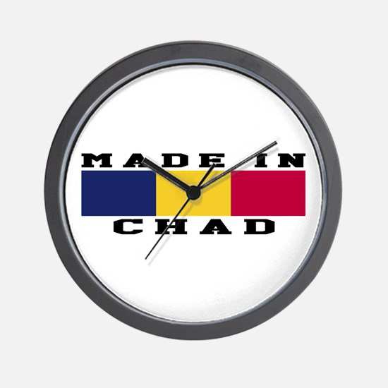 Chad Made In Wall Clock