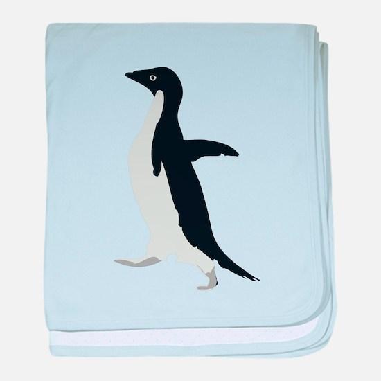 Socially Awkward Penguin baby blanket