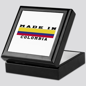 Colombia Made In Keepsake Box
