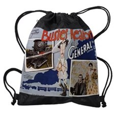 Buster Keaton The General 4 Drawstring Bag