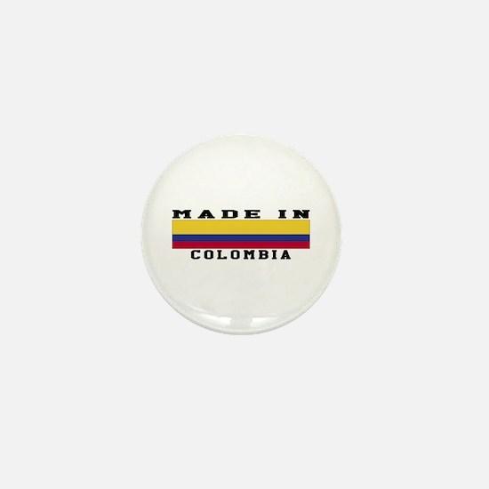 Colombia Made In Mini Button