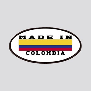 Colombia Made In Patches