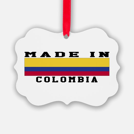 Colombia Made In Ornament