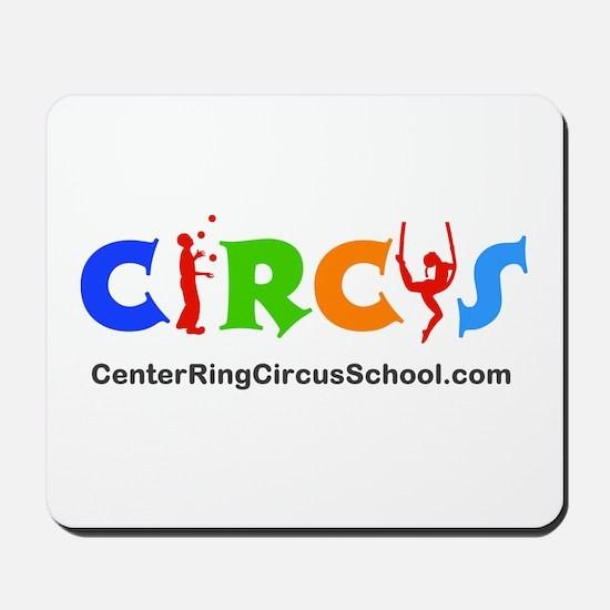 CenterRingCircusSchool Logo Mousepad
