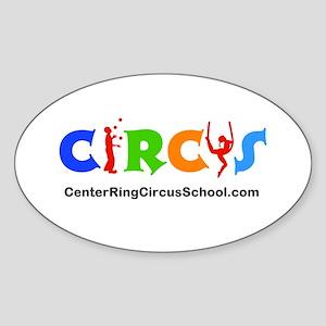 CenterRingCircusSchool Logo Sticker