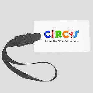 CenterRingCircusSchool Logo Luggage Tag