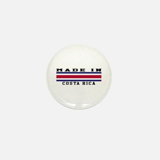 Costa Rica Made In Mini Button