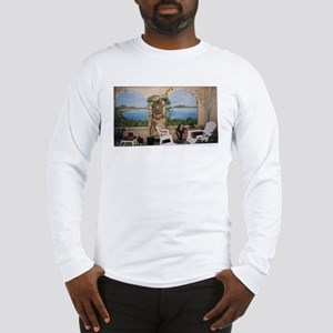 View of Lake Como Long Sleeve T-Shirt