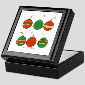 Ornament Cluster Keepsake Box