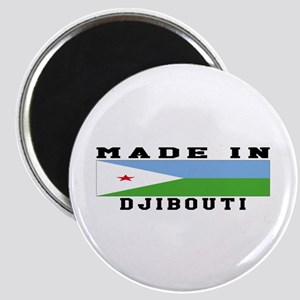 Djibouti Made In Magnet