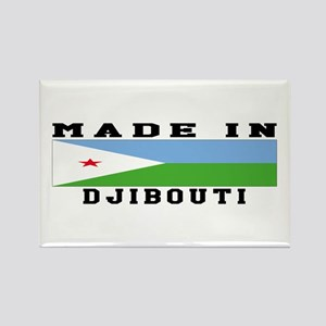 Djibouti Made In Rectangle Magnet