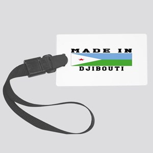 Djibouti Made In Large Luggage Tag