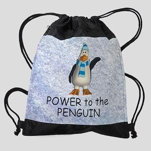 penguinpower1 Drawstring Bag