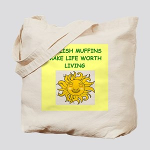 english muffins Tote Bag