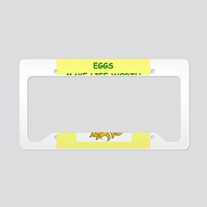 EGGS License Plate Holder