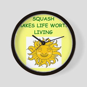 squash Wall Clock