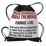 2-ruleworld_10x8.png Drawstring Bag