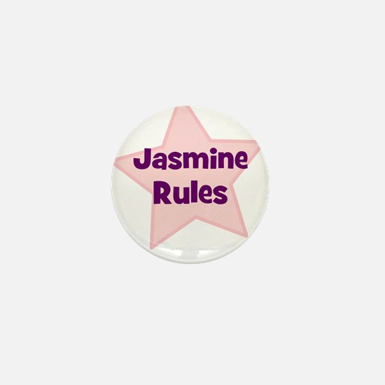 Jasmine Rules Mini Button