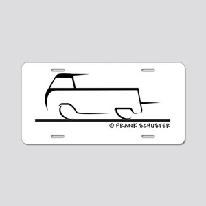 Speedy Single Cab Aluminum License Plate