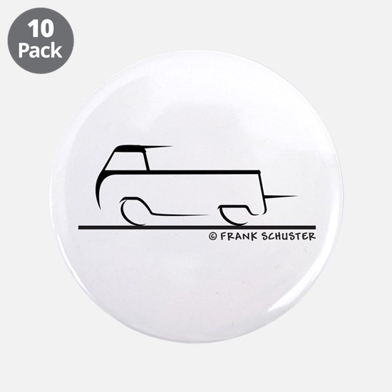 "Speedy Single Cab 3.5"" Button (10 pack)"