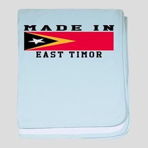 East Timor Made In baby blanket