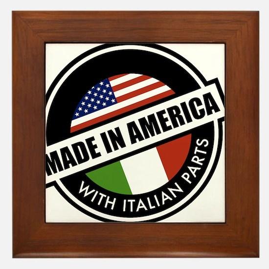 Made in America Framed Tile