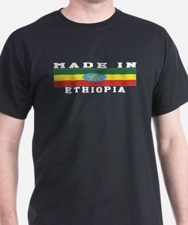 Ethiopia Made In T-Shirt
