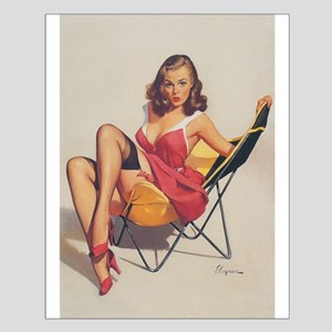 Classic Elvgren 1950s Vintage Pin Up Girl Posters