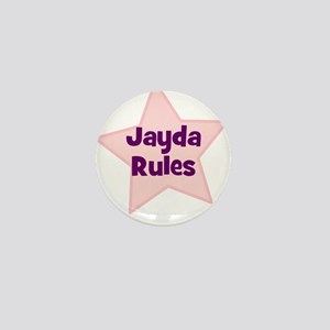 Jayda Rules Mini Button