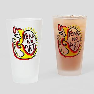 Fear No Art - Original! Drinking Glass