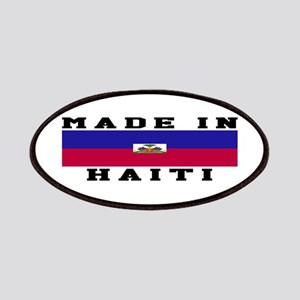 Haiti Made In Patches